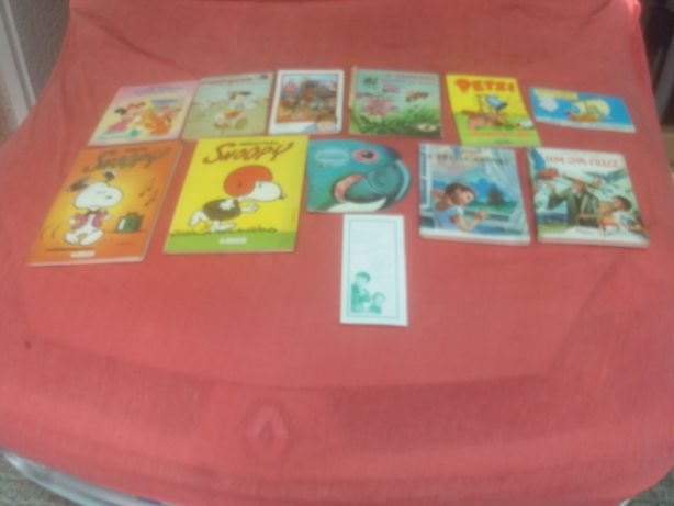 contos e livros de adulto e crianças
