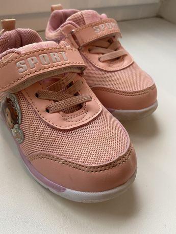 Продам кроссовки для девочки 25 р