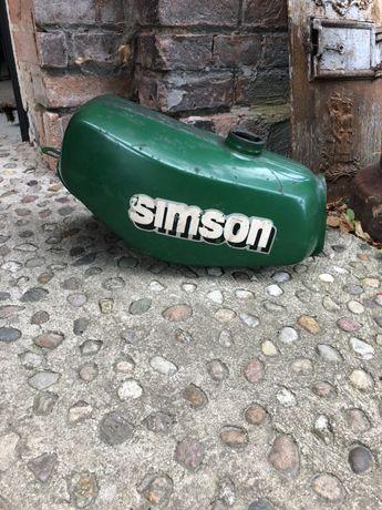 Bak zbiornik paliwa simson