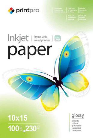 Глянцевая фотобумага  PrintPro 10-15  230г/м2