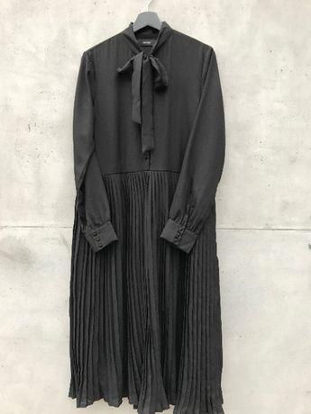 Платье длинное с бантом черное vero moda