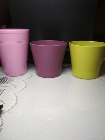Sprzedam doniczki do kwiatów ceramiczne do storczyka