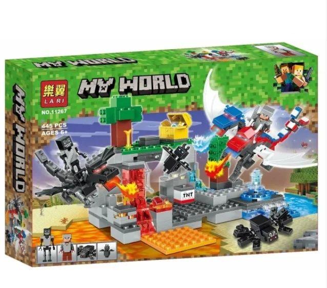 """Конструктор """"My World Minecraft: битва драконов"""", 445 дет Кременчуг - изображение 1"""