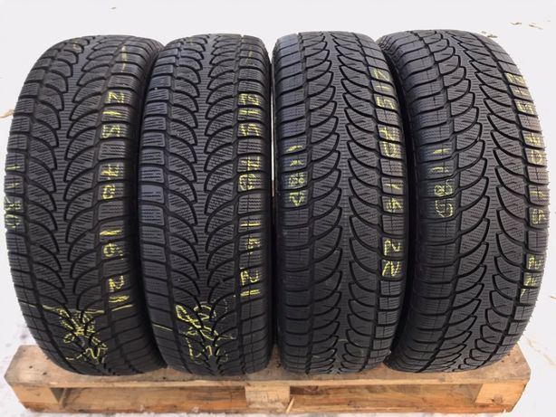 Зимові шини 215/70 R16 Bringestone Blizzak lm-80 4ШТ,7+mm,2016 рік