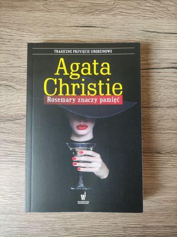 Rosemary znaczy pamięć, książka Agata Christie