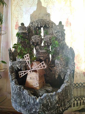 Декоративний водоспад             Водопад декоративный