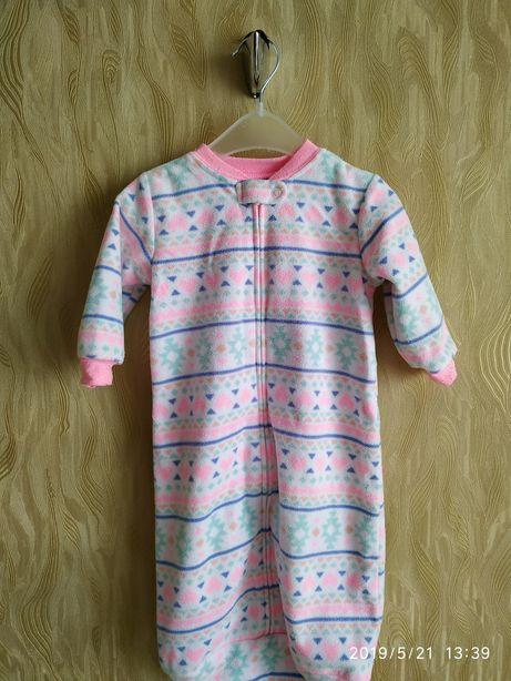 Флисовый спальник для малышей от 0-9 месяцев Carter's