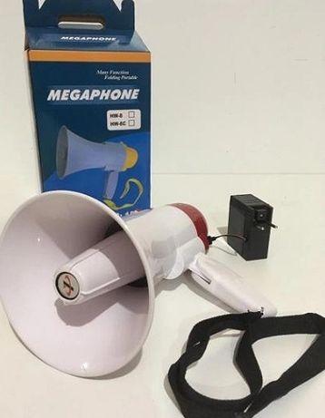 Ручний мегафон, рупор 15w Гучномовець з функції запису