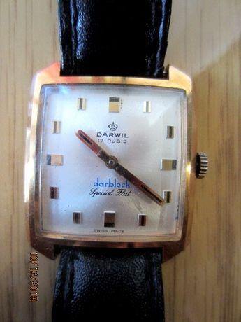 Часы Darwil square special flat 17 rubis rar