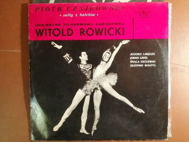 Piotr Czajkowski - suity z baletów LP EX Witold Rowicki