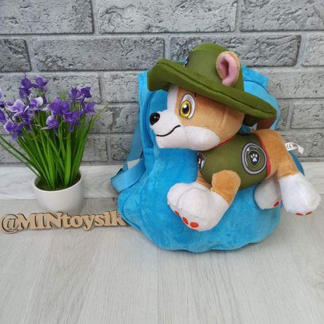 Рюкзак Мягкий и игрушкой «Щенячий патруль»