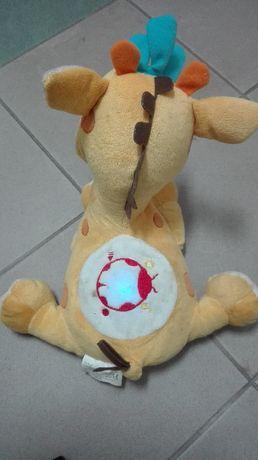 Zabawka pluszak, gra świeci, można nagrać swój głos dla malucha