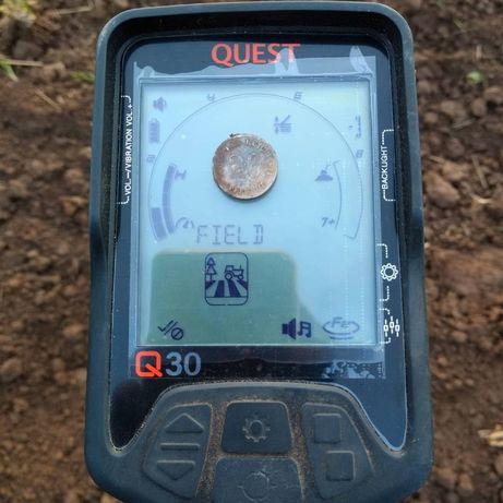 Металлоискатель Quest Q30, металошукач, металлодетектор