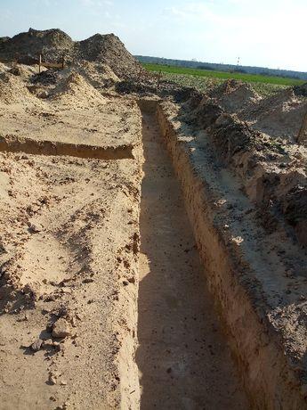 Mknikoparka Kubota, odwodnienie przyłącza wodno-kanalizacyjne drenaż