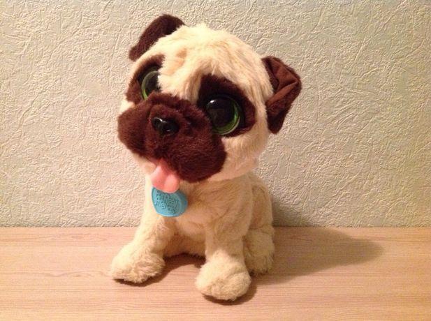 Мягкая игрушка Интер активная собака Мопс Джей Джей