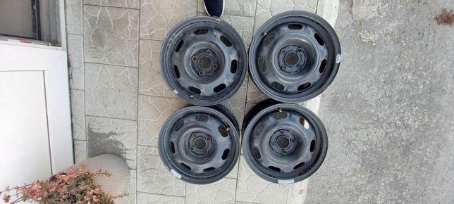Комплект металічних дисків 4х100R14 VW. SEAT