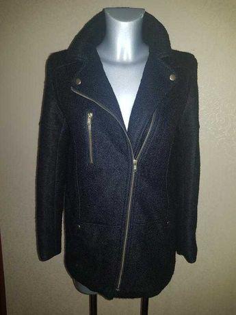 Трендовое шерстяное пальто косуха H&M Zara Mango