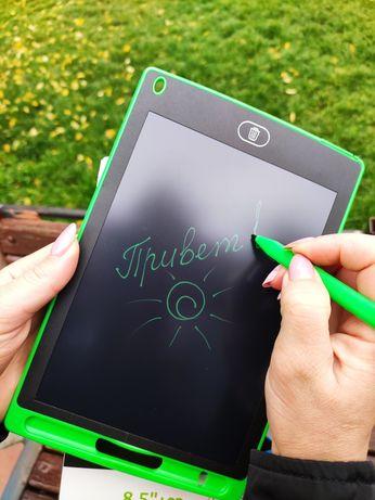Доска для рисования и записей графический планшет LCD Подарок на НГ