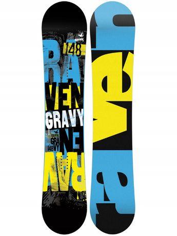Wyprzedaż nowa deska Snowboardowa RAVEN Gravy 154 cm Promocja !!!