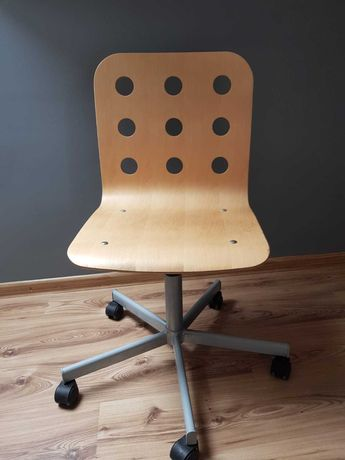 Krzesło drewniane obrotowe ikea