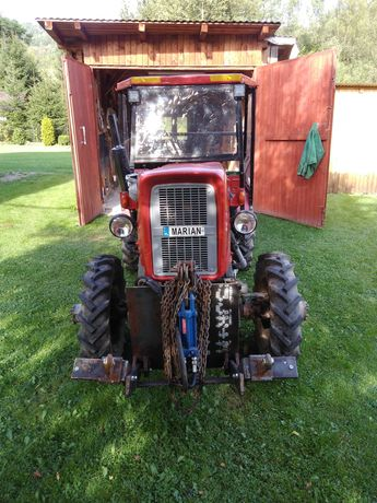 Traktor Mocny i zwrotny sam 4x4