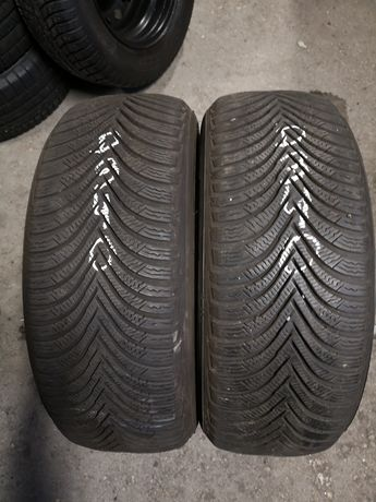 Opony zimowe 215/60/16 Michelin 2szt 6,5mm