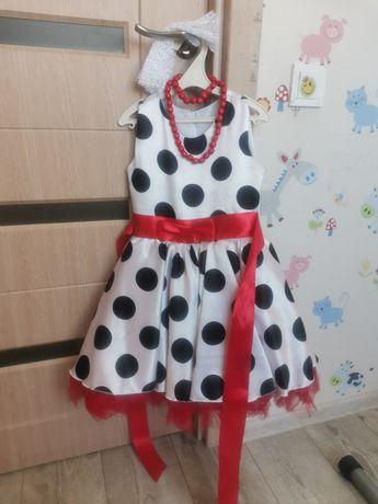 Нарядное платье в стиле стиляги