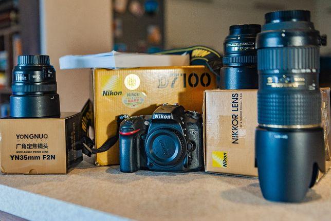Лучший среди кроп Nikon d 7100 состояние НОВОЕ 5* около 15 тыс. пробе