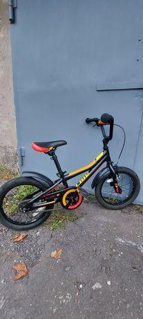 """Детский велосипед Pride Tiger 16"""", цвет черно-желтый"""