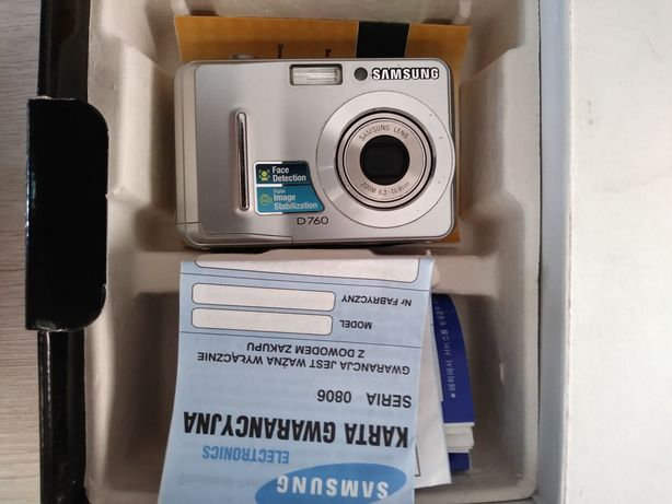 Aparat fotograficzny Samsung niesprawny