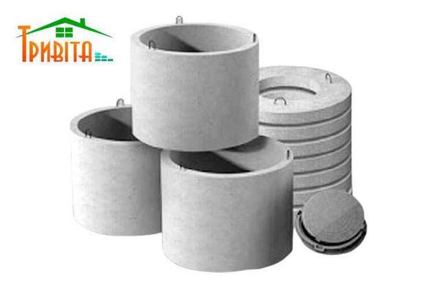 ЖБИ бетонные кольца для колодца, септика, выгребной ямы КС10-9, 10-6