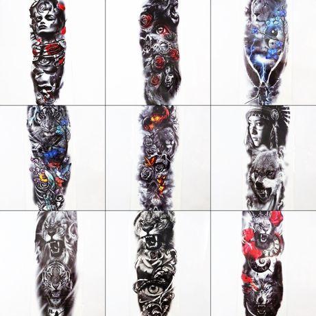Tatuaże tymczasowe | Duże, Rękaw | Różne wzory*
