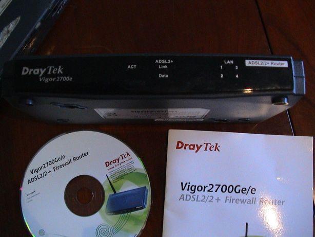 2 DRAY TEK - ROUTER-O preço indicado é o total para os 2 router