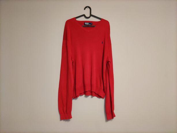 Luźny Sweterek POLO Ralph Lauren Oversize Boxy Fit