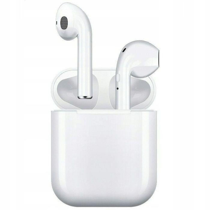 słuchawki bezprzewodowe i12 TWS lombard madej sc