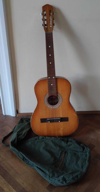 Gitara klasyczna Defil 1978 z pokrowcem
