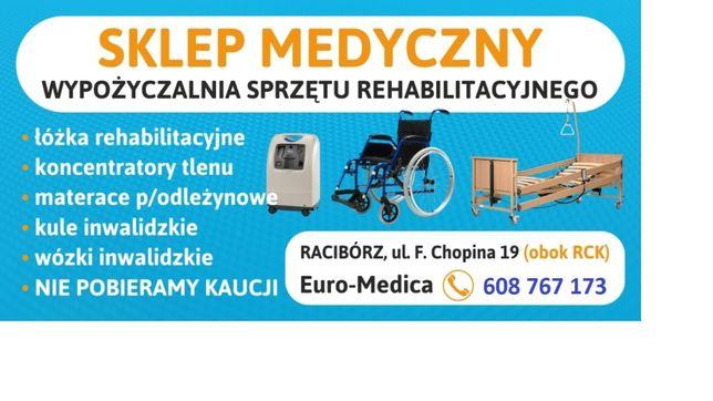 Łóżko, koncentrator tlenu, materac-Wynajem sprzętu rehabilitacyjnego