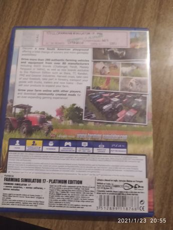 Farming Simulador 17 platinum edition