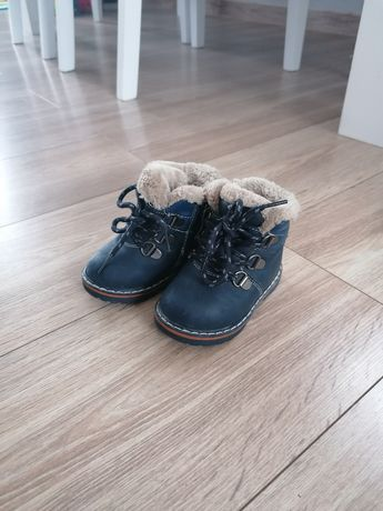 Buciki zimowe dziecięce / chłopięce /dziewczęce rozmiar 20