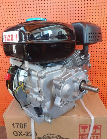Двигатель бензиновый 7.5 л.с с понижающим редуктором 1/2