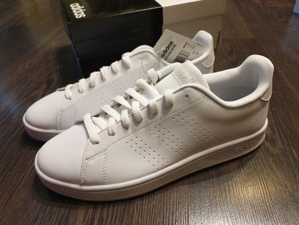 Белые кеды/кроссовки Adidas 10,5US