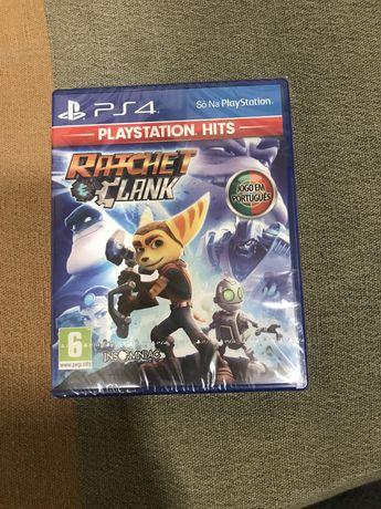 Ratcher e Clank Ps4 ainda com plastico