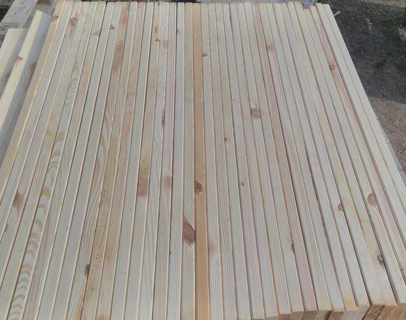 Deski do obudowy kominka- heblowane, frezowane - Wysyłka