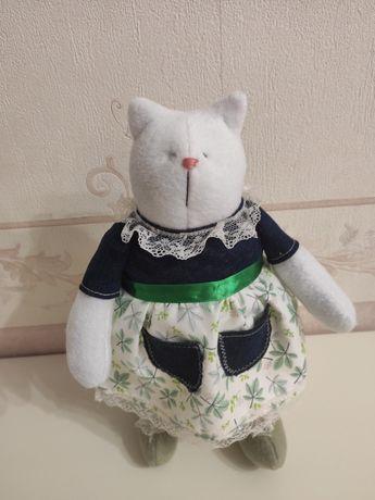 Тильда-кот.Ручная работа.Кукла тильда.