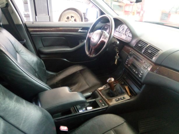 Podłokietnik BMW E46 sedan kombi