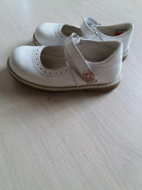 Белые туфли туфельки zara нарядные