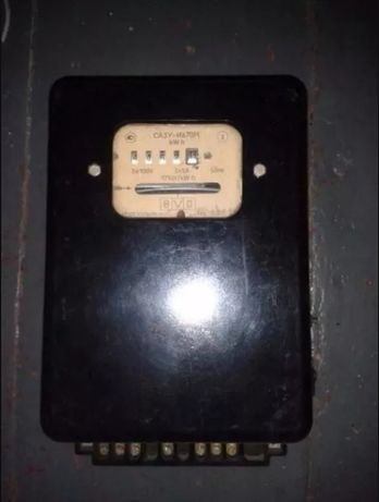 Продам счётчик 3-х фазный СА4У-И670М с эл блоком