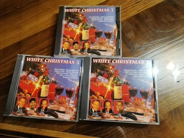 3 CDS white Christmas
