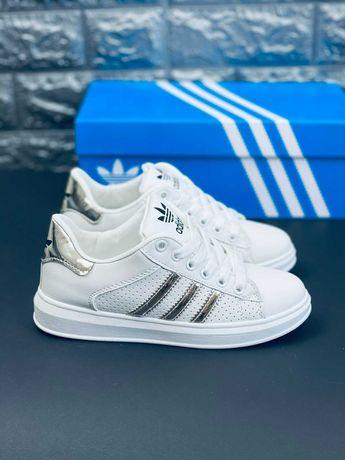 Кроссовки Adidas Superstar Кеды Адидас скидка на кожу!!!