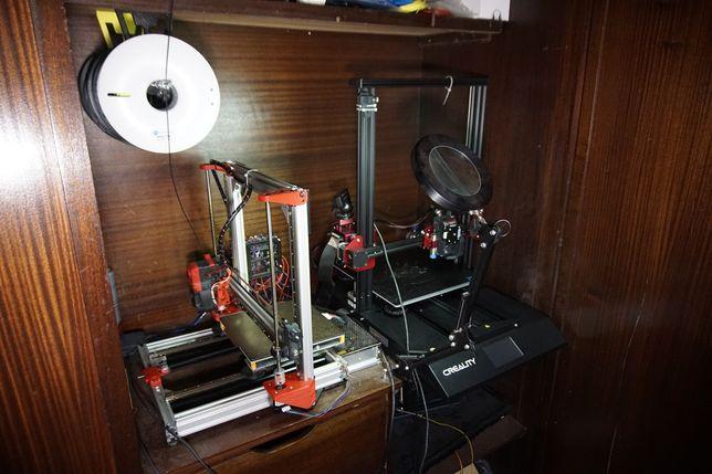 Impressora 3D. cada